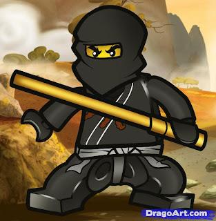 Imágen de Ninjago para imprimir gratis.