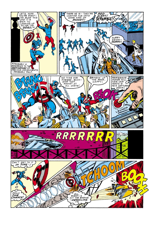 Captain America (1968) Issue #338 #267 - English 18