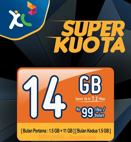 Paket internet SUPER KUOTA XL