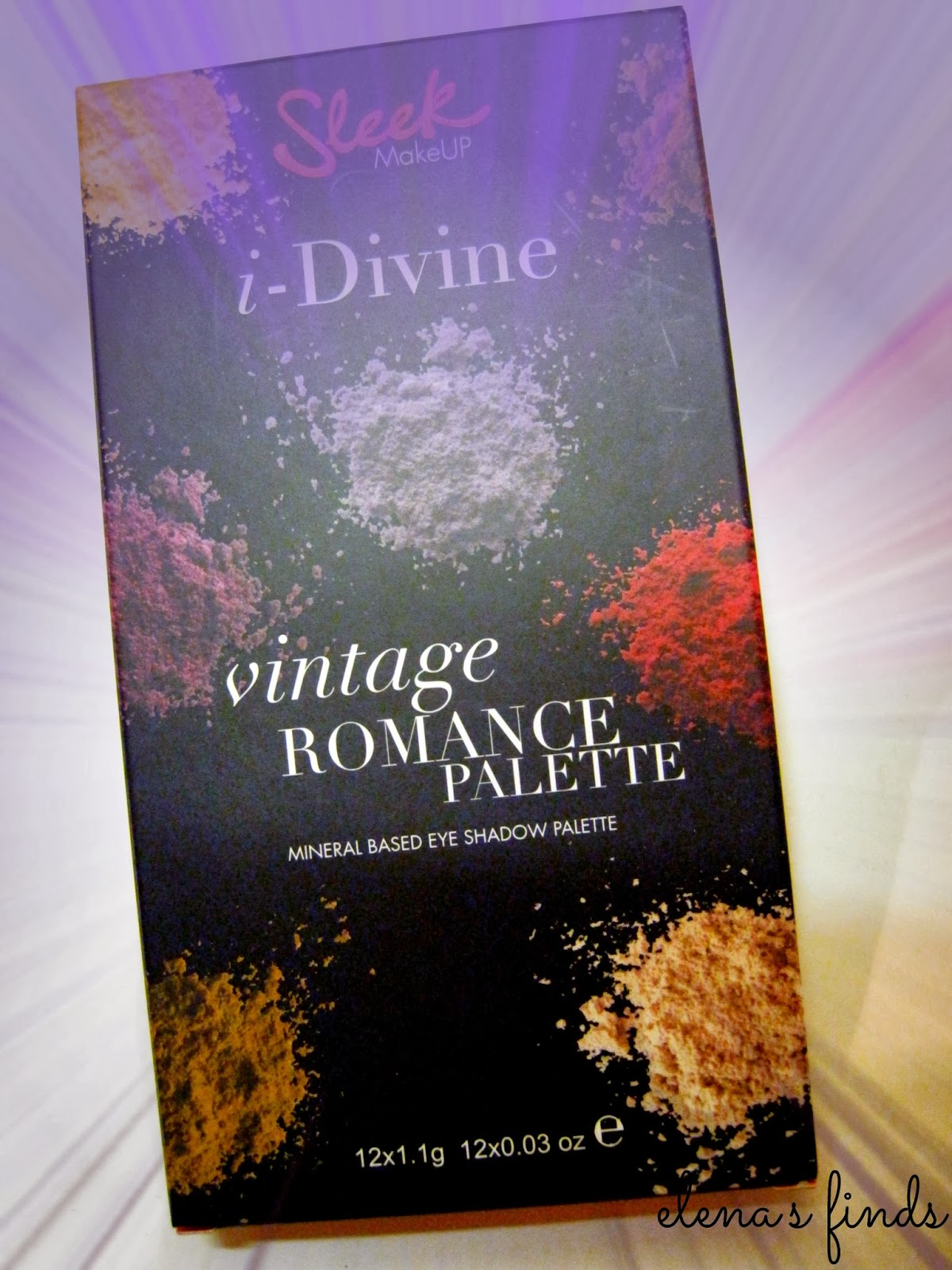 Sleek Vintage Romance Palette ✿Review  359484716be