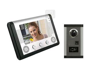 SY-801+D9ID 1/1 - комплект видео домофона с RFID (1 монитор)