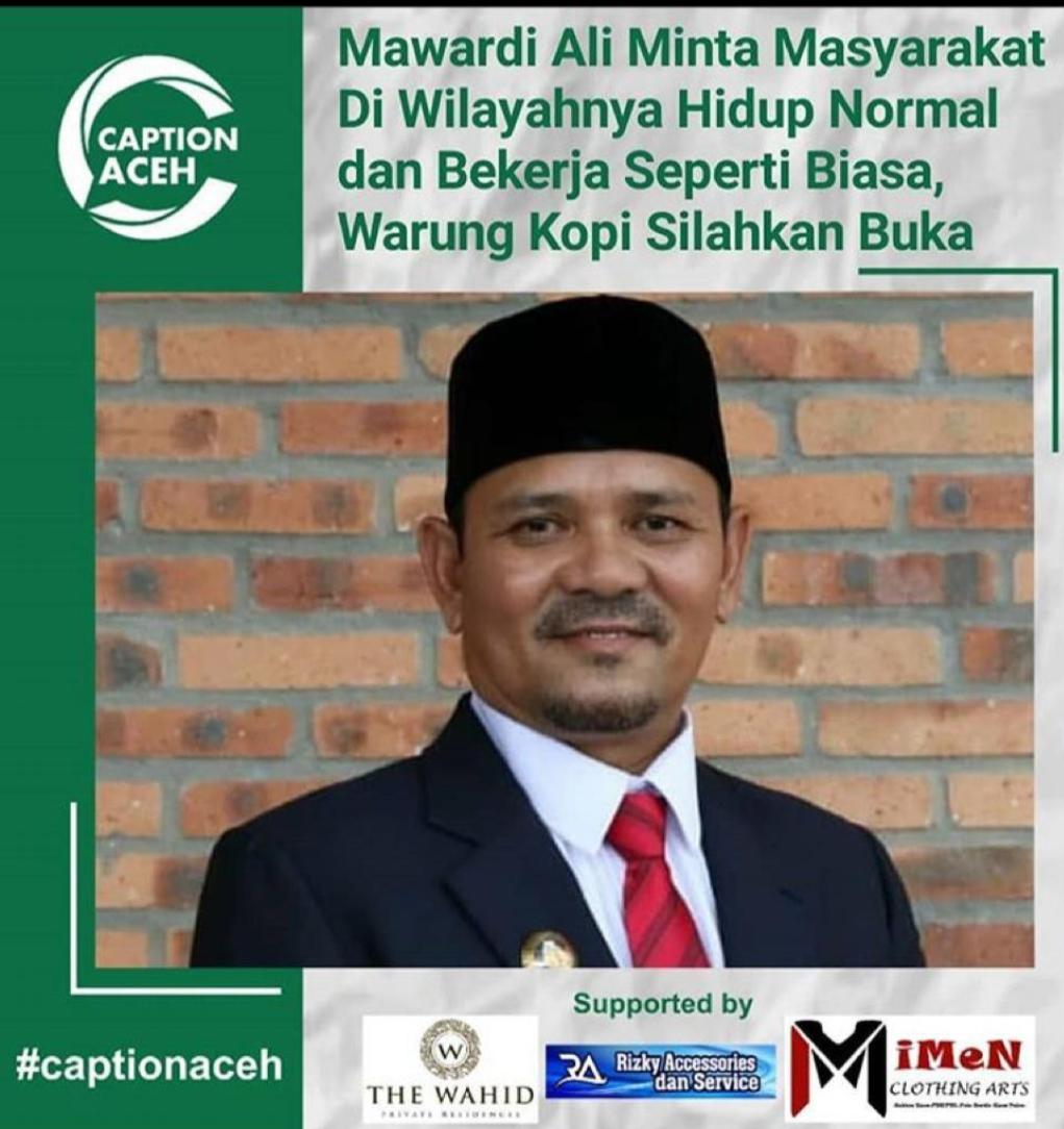 Bupati Aceh Besar Ir. H. Mawardi Ali