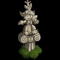 Botanical Statue