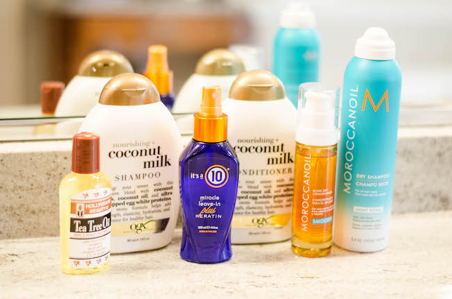 5 Favorite Dry Hair Products