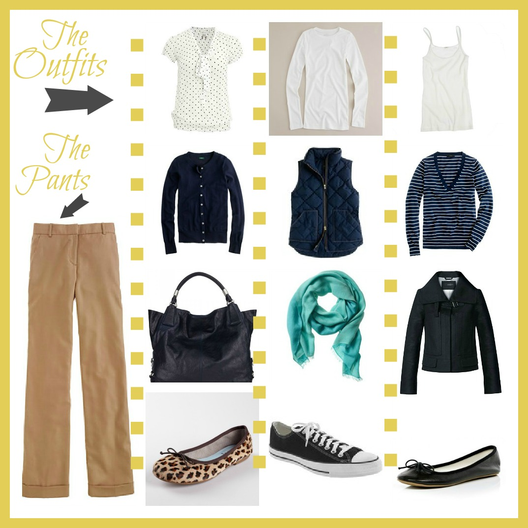 Improving Me in 2013 Day 13 {Oufit Combinations} - Inspiration For Moms