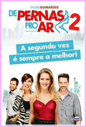 Filme De Pernas pro Ar 2 com Ingrid Guimarães