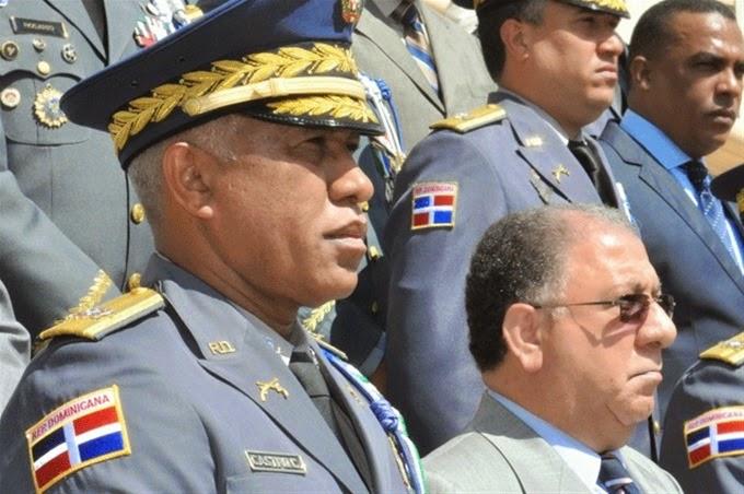 el ministro de interior y polic a jos ram n fadul y jefe