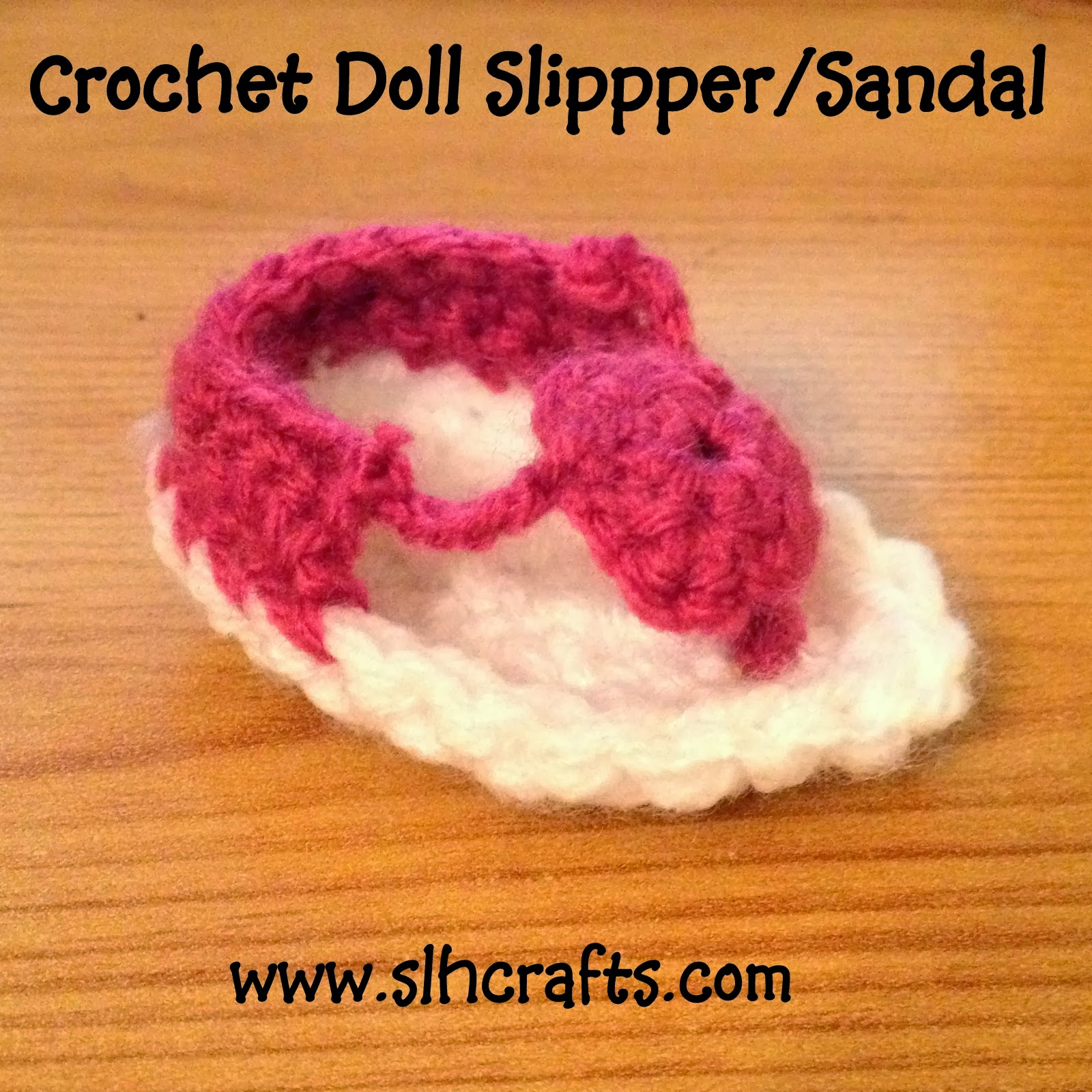 Crochet Slipper Sandal