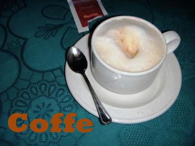 Kafein, Kopi, Teh Dan Coklat
