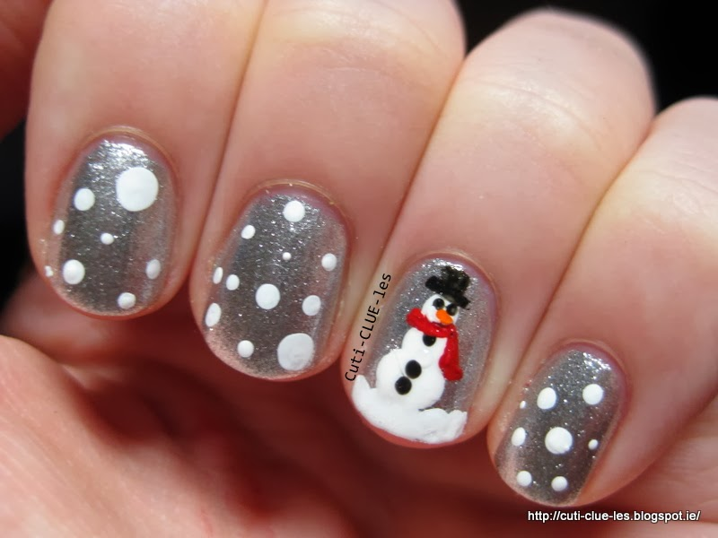 Christmas Nail Art Freehand Eye Candy Nails Training Freehand