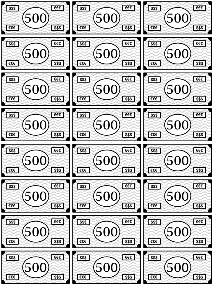 0500_dinero para imprimir y jugar