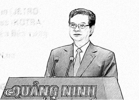 Thủ tướng Nguyễn Tấn Dũng phát biểu thu hút vốn đầu tư vào Quảng Ninh