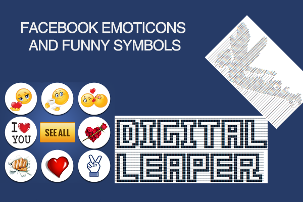 Digital Leaper Facebook Emoticons And Funny Symbols