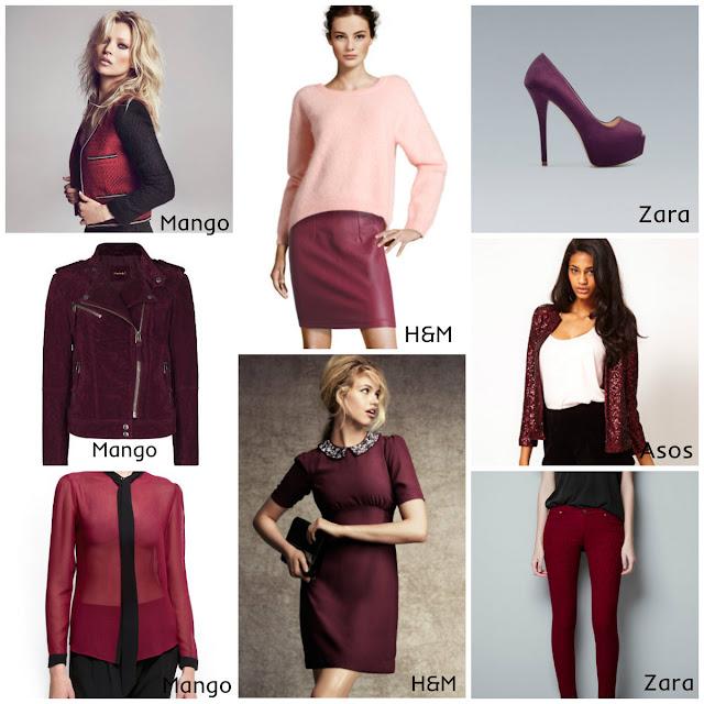 burgundy trend, bordeaux, cor de vinho tendência