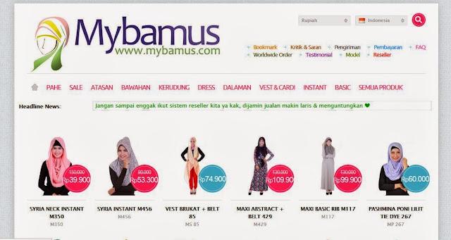 toko online baju muslim terpercaya Indonesia