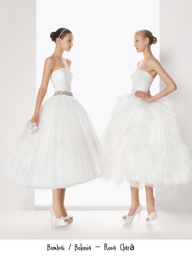 Vestidos novia imitacion rosa clara