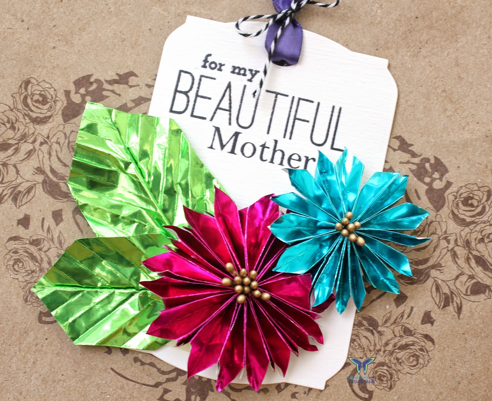 Origami Flowers for Mom – CutCardStock