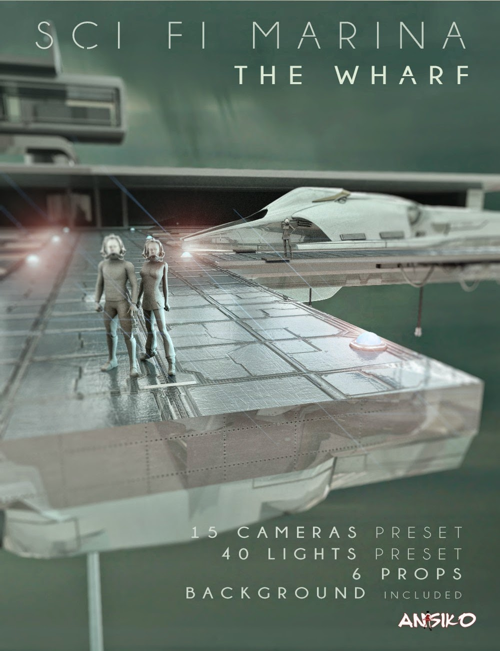 SCI FI MARINA The Wharf