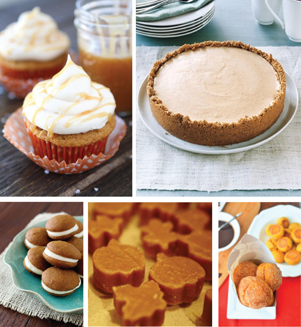 5 pumpkin desserts from around the web (via Holly Would)