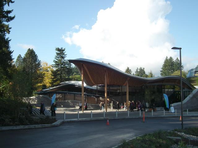 nouveau centre des visiteurs du Jardin botanique VanDusen, Ville de Vancouver