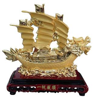 Thuyền buồm mang lại may mắn