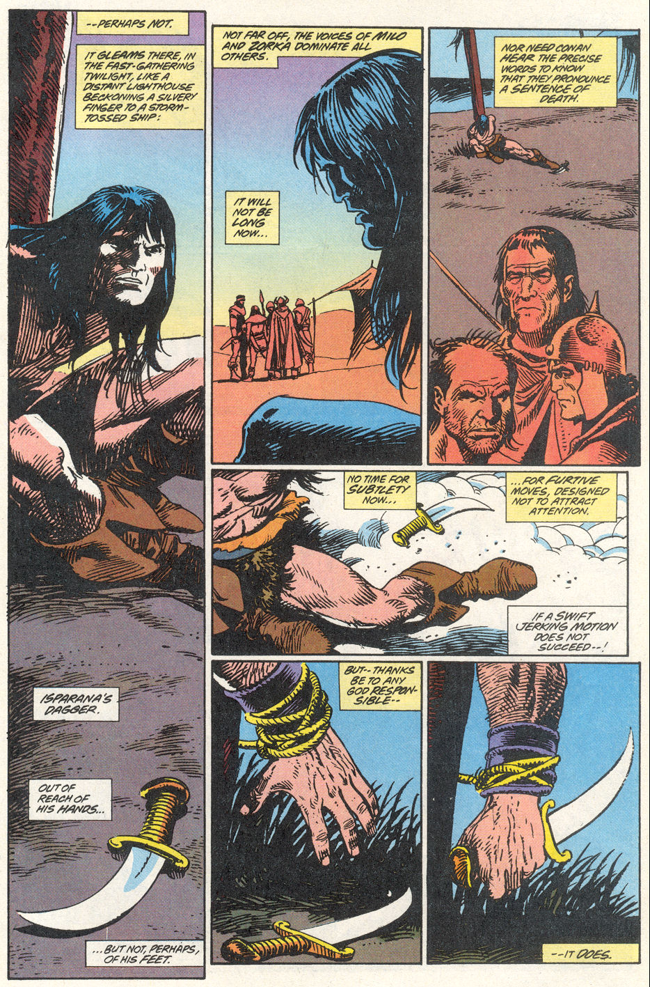 Conan the Barbarian (1970) Issue #275 #287 - English 12