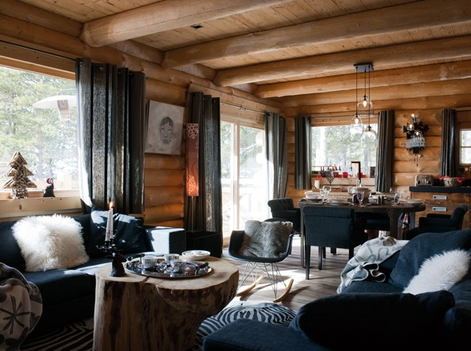 Arredare Uno Chalet Di Montagna : Boiserie c chalet tra tradizione e rinnovamento