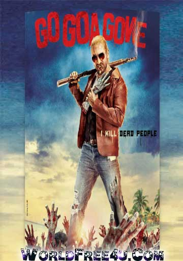 Poster Of Bollywood Movie Go Goa Gone (2013) 300MB Compressed Small Size Pc Movie Free Download worldfree4u.com