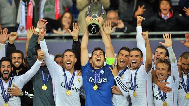 Real Madrid, Campeon de la Super Copa de Europa 2014. Vence 2-0 al Sevilla con goles de Cristiano Ronaldo | Ximinia