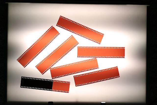 Lomography La Sardina toy camera clear negatives