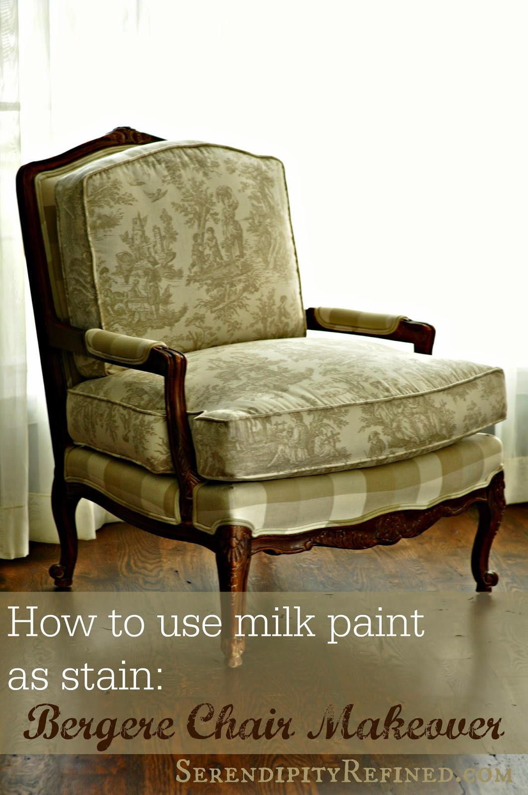 Today I M Using Miss Mustard Seed Milk Paint Curio As Stain To Makeover These Fabulous Reproduction French Bergere Chairs That
