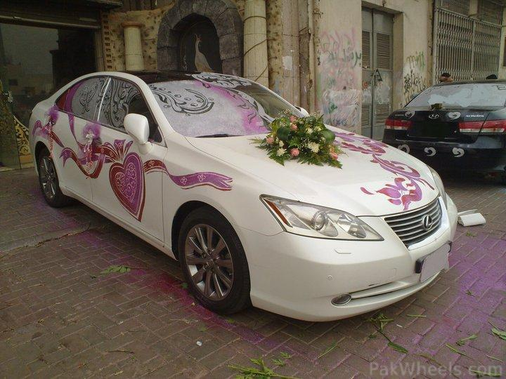Wedding events car decoration for Automotive decoration