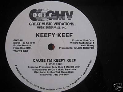 Keefy Keef – Cause I'm Keefy Keef (VLS) (1992) (VBR)