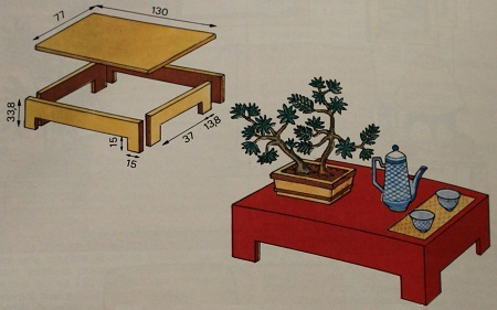 Como hacer una mesa de centro en madera for Como hacer una mesa de centro