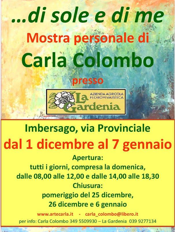mostra CARLA COLOMBO