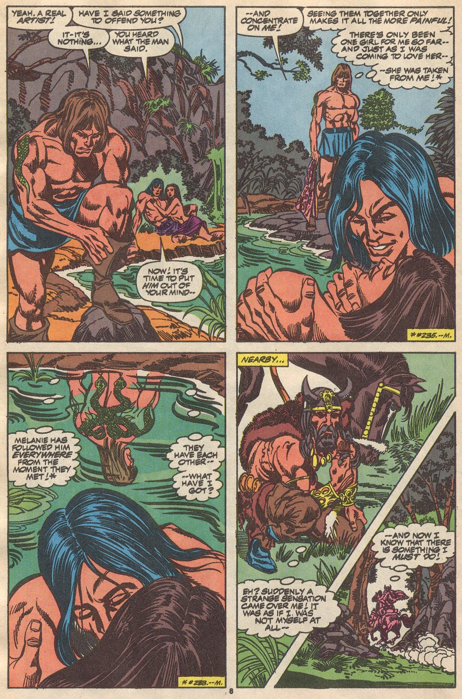 Conan the Barbarian (1970) Issue #237 #249 - English 7