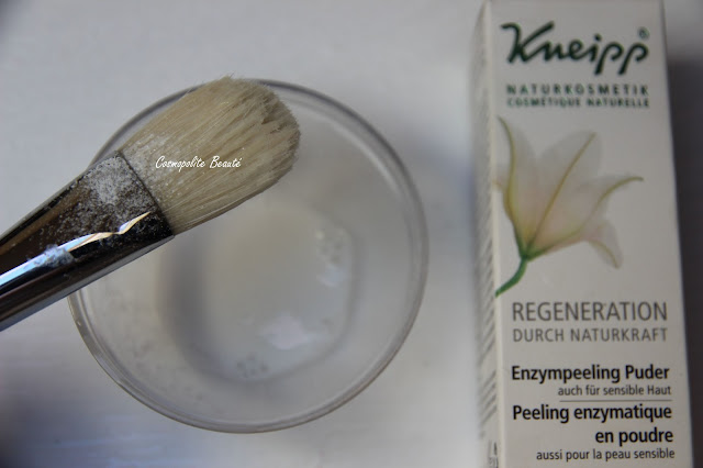 soin visage, routine soin, kneipp, marque allemande, gommage, masque, gommage enzymatique, peeling,