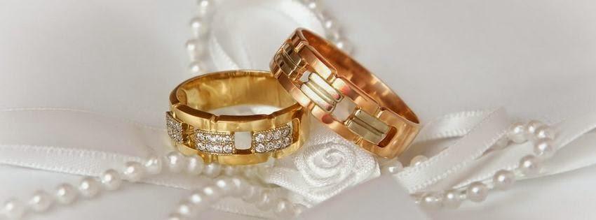 Galerie des images de couverture facebook avec bague de mariage ...