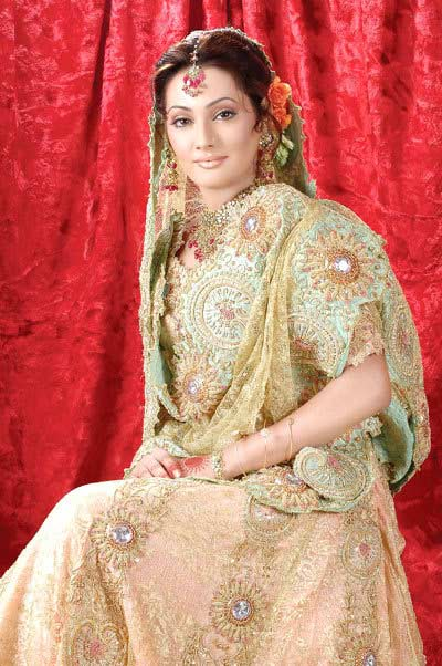 New Pakistani Bridle Dress In Stylish Designs 2012