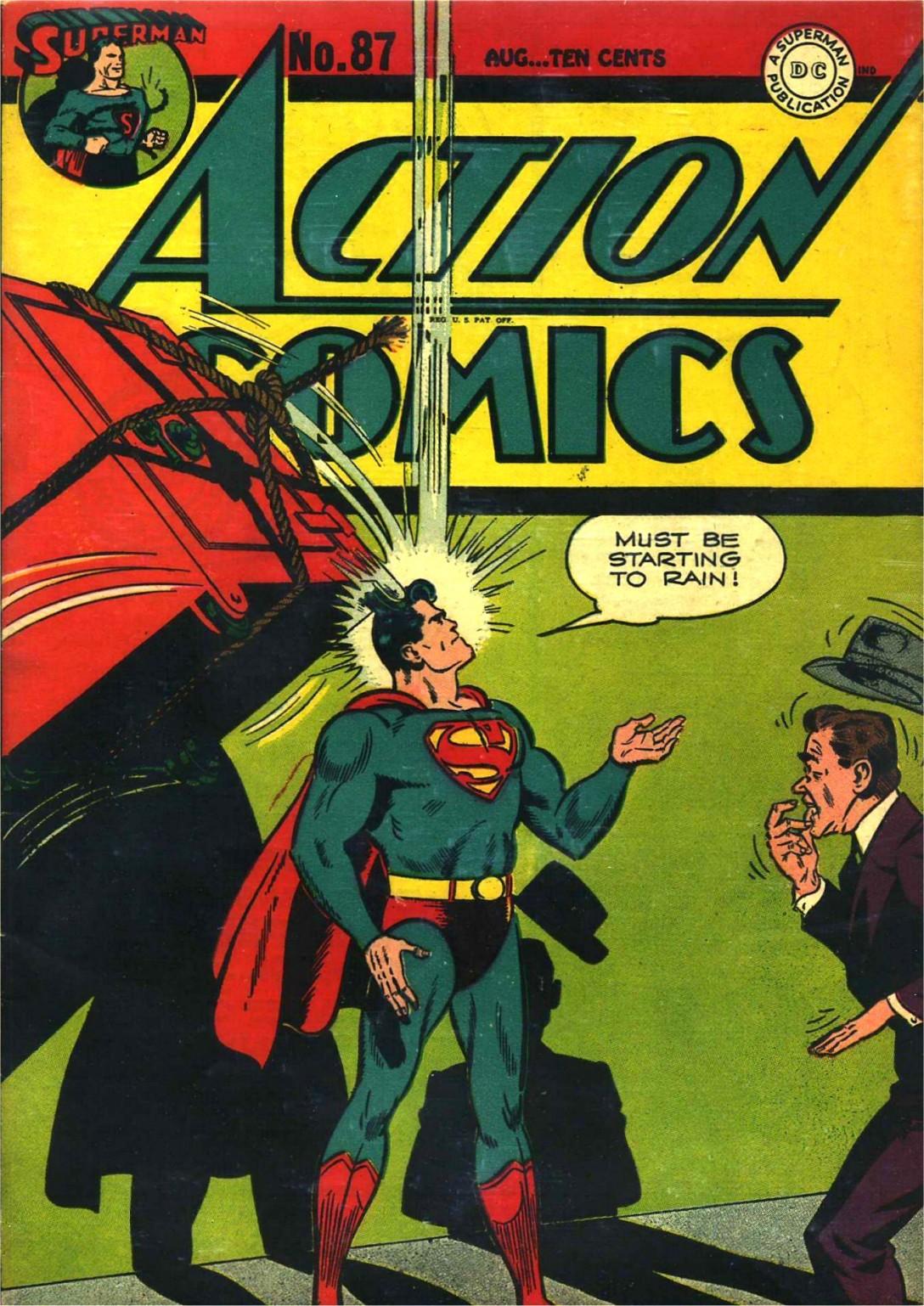 Action Comics (1938) 87 Page 1