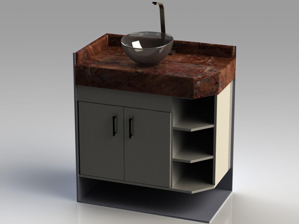 wdplanejados: Projeto Armário de Banheiro #633F30 1024 768