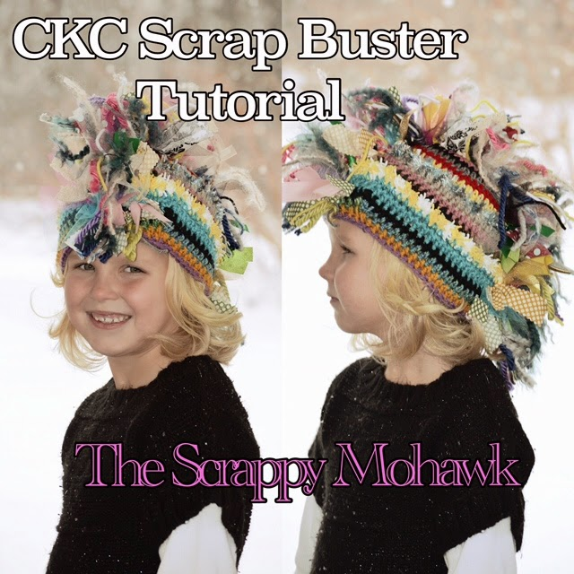 Create Kids Couture Scrappy Mohawk Hat
