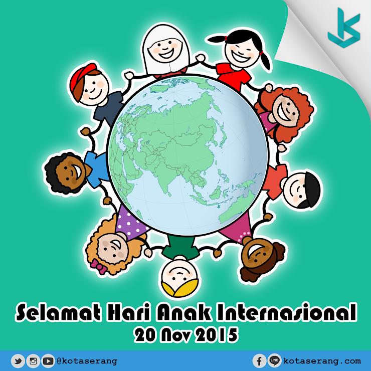 Gambar Vector - Hari Anak Internasional 20 November 2015