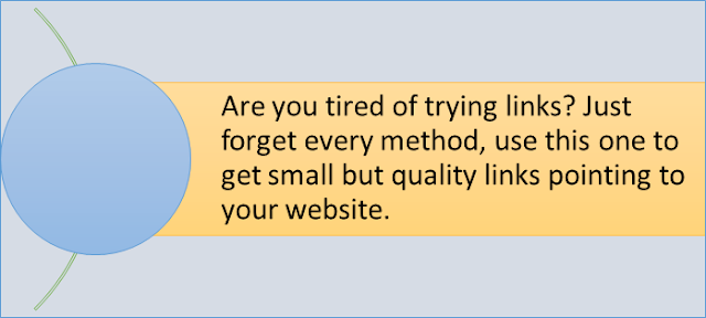 quality backlinks to your website