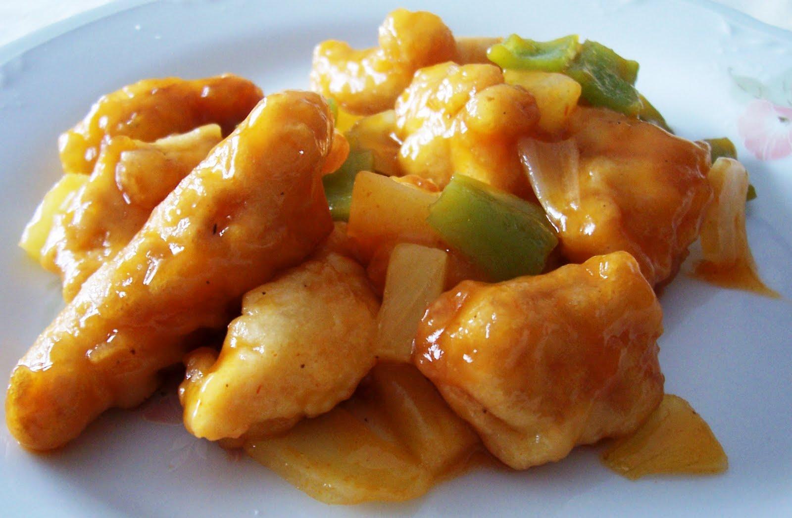 comida de pollo: