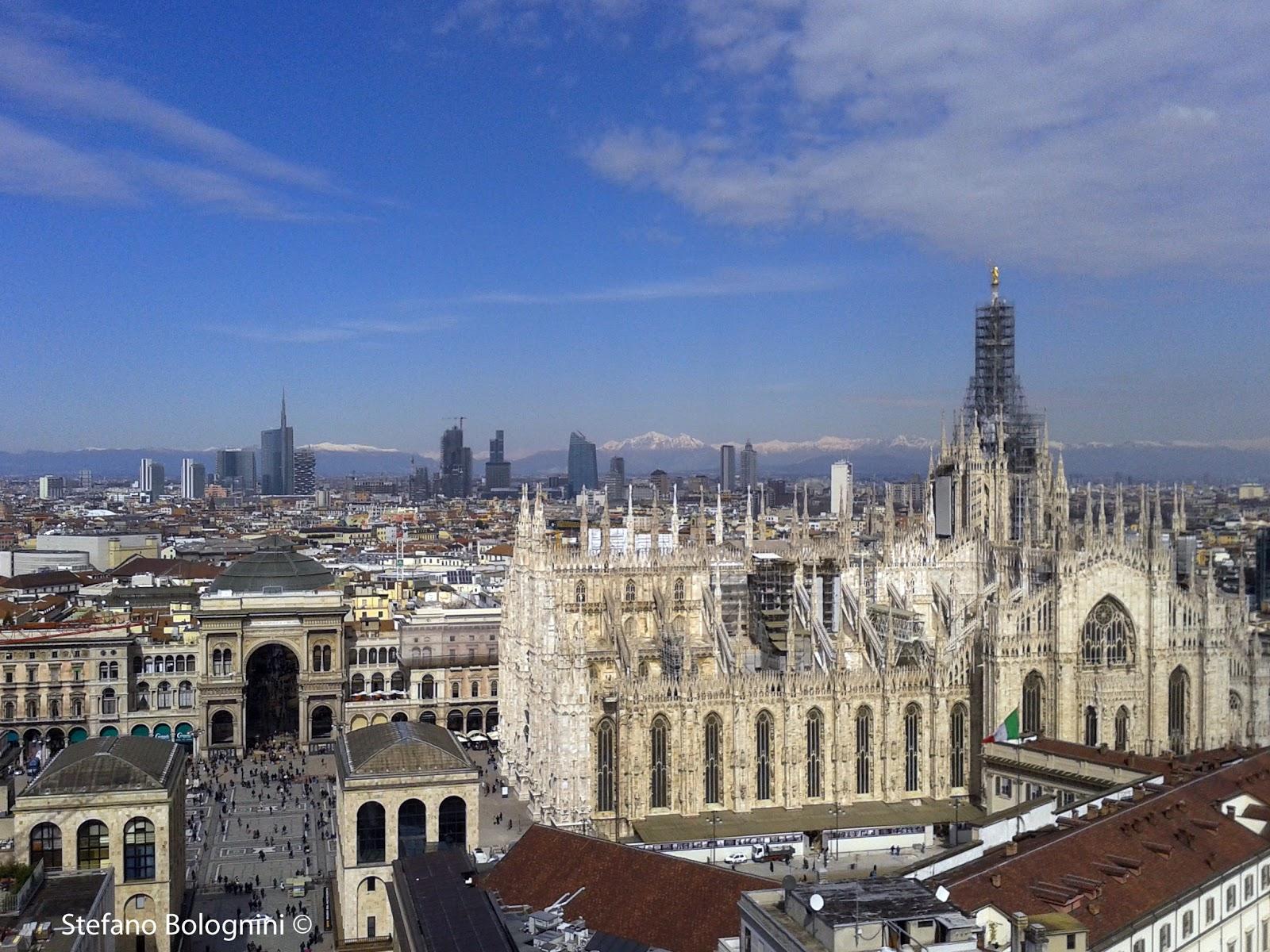 Urbanfile - Milano: Panorama di ieri dalla Terrazza Martini
