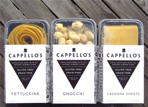 ... Free Blondie: GIVEAWAY + 2 Easy Recipes: Cappello's Gluten Free Pasta