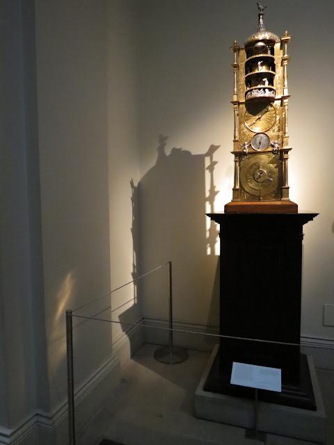 british museum clock