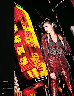 Magazine Photoshoot : Chiharu Okunugi, Risa Nakamura, Hiari Ikeda Photoshot For Vogue Magazine Japan July 2014 Issue