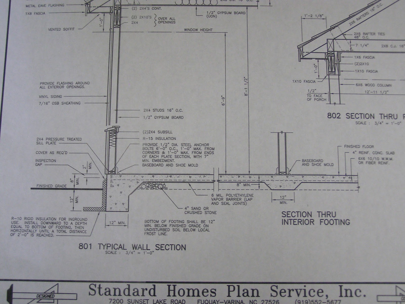 Standard homes plan services for Concrete slab house plans